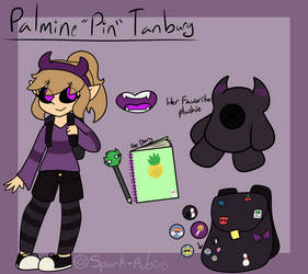 Pin Tanburg (Ref and Bio) by Spark-Robins