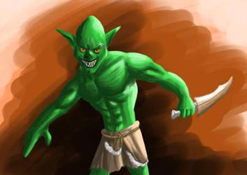 Goblin by Dorimen