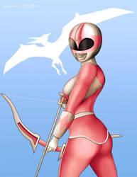 Pink Ranger v1 by EisenherzTheOne