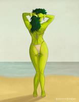 She Hulk by EisenherzTheOne