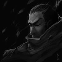 Yasuo and the holiday project! by Gevurah-Studios