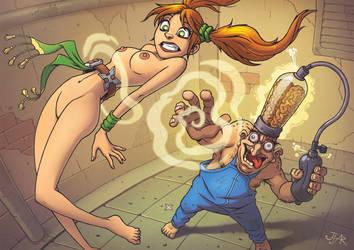 TNNG VS Evil Mindpumper! by JjAR01