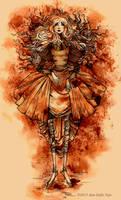 Sepia Girl by AnnSofieVejs