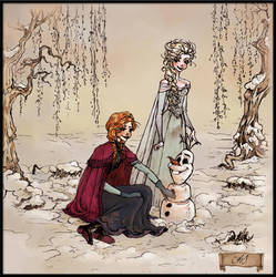 Do You Want to Build a Snowman? by AnnSofieVejs
