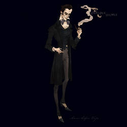Sherlock Holmes by AnnSofieVejs