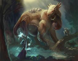 Hogian Dragon 2 by Nightblue-art