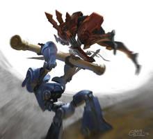 Gladiators by Nightblue-art