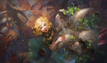 Reborn by Nightblue-art