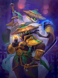 Lotus Agents by Nightblue-art