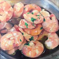 Shrimps by Nightblue-art