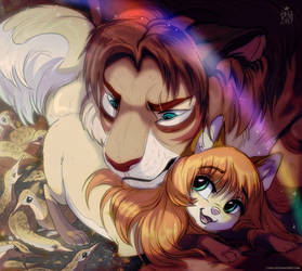 My lovely tiger! by Oha