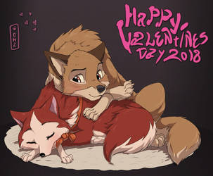 Happy Valentines Day 2018 by Oha