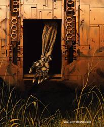 Man on Mars by sivet-christophe