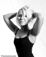 Dorota in BW by tomidczak