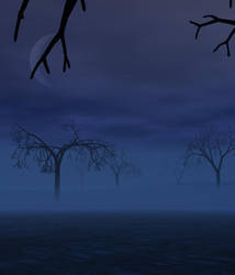 Mysty Night on the Dead Plains by AteriusGmork
