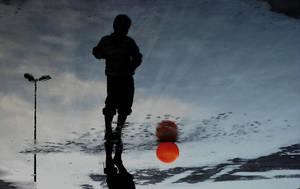 Playing on Blue Sky by AnilTamerYilmazz