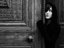 Portrait of a Mourner by AnilTamerYilmazz