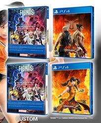 Tekken 7 Custom Boxart Project (PS4) -preview- by Akio14