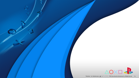 PlayStation Material Flow HD Wallpaper by Akio14