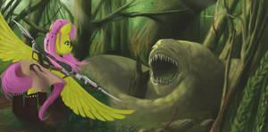 Fluttershy's Forest by boomythemc