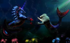 Battle of the Sea Kings by Dakorillon
