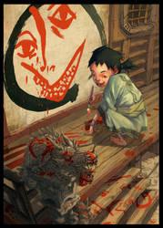 Zen Painting by toniinfante
