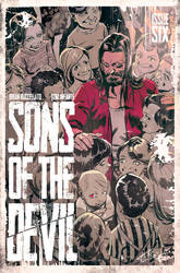 Sons of the devil #6 Cover by toniinfante