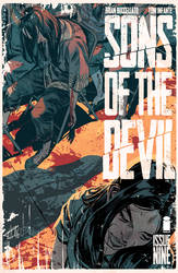 Sons of the devil #9 COVER by toniinfante