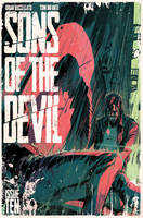 Sons of the devil #10 COVER by toniinfante