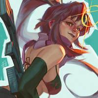 Yoko!! by toniinfante