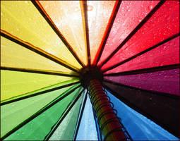 Rainbow Umbrella by RoughDiaamond