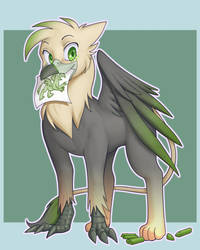 Ralek Crayon Griffon by nauth