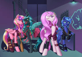 MLP - Princess Gang! by nauth