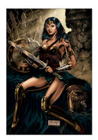 WONDER WOMAN FULLCOLORS by fabiojansen