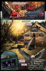 Monster Hunters Survival Guide page 01 colors by fabiojansen