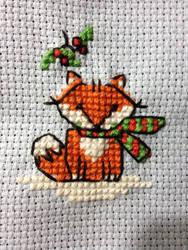 Winter Fox by LadyEllyn