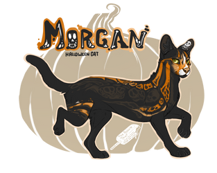 Morgan! Spirit Halloween by ThePopsicleThief