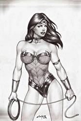 WONDER WOMAN new 52 !!! by carlosbragaART80