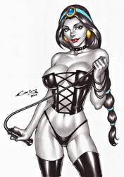 PRINCESS JASMINE (ALADIN) !!! by carlosbragaART80