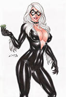 BLACK CAT !!! by carlosbragaART80
