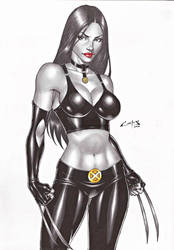 X-23 !!! by carlosbragaART80