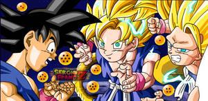 Kid Goku GT by SergioFrancZ