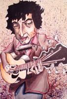 Bob Dylan Caricature by samshank0453