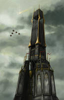The Lady's Tower by samshank0453