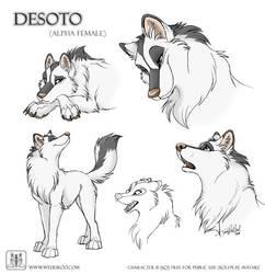 Sketches Desoto by TaniDaReal