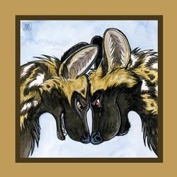 Savannah Love - Wild Dogs by TaniDaReal