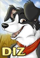 Badge Diz by TaniDaReal