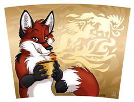 Coffee mug EosFoxx by TaniDaReal