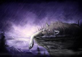 Purple rain by TaniDaReal