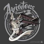 Eurofurence 24 shirt - Aviators by TaniDaReal